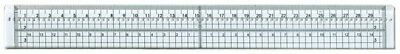 Crafts4U Centering Ruler with Metal Edge and Piercing Holes