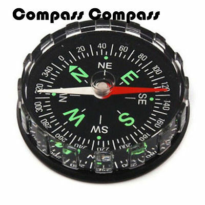 Pocket Button Outdoor 2016 Hiking Compass Filled Mini Liquid Camping  Survival