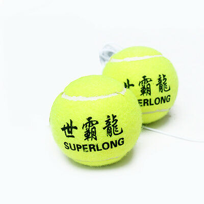 1Pc Practical Kids Adult Tennis Training Aids Ball Outdoor Funny Games Toys