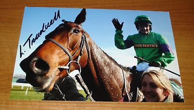 Liam Treadwell Signed Photo Mon Mome Grand National '09