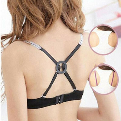 9X Cleavage Bra Control Clips Strap Adjust Racer Back Strap Converter Helpful