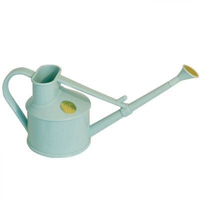 Haws Duck Egg Plastic Handy Indoor Watering Can with Rose Attachment 0.7 Litre