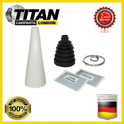 1x Universal CV Joint Boot Kit Gaiter With Grease, Clamps And Cone Brand New