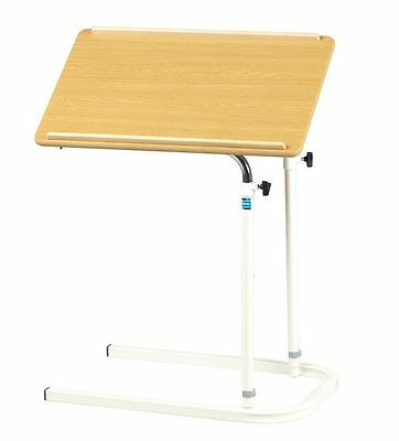 Sidhil Centenary Overbed Table Height and Angle Adjustable - UK Manufactured