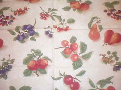 "Longaberger Rod Pocket Valance - 75"" X 18"" - Fruit Medley"