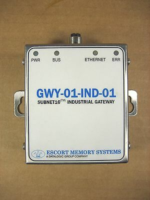 Escort Memory Systems GWY-01-IND-01 SUBNET 16