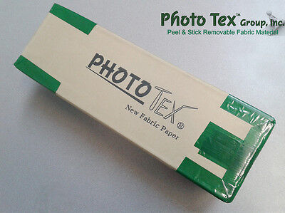 Photo Tex Removable Self-Adhesive Sign/Wallpaper Fabric