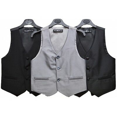 Boys Smart Formal Wedding Special Occassion Page Boy Prom Waistcoats