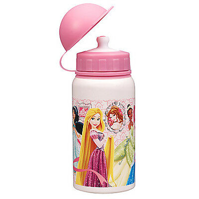 Disney Store Princess Aluminum Water Bottle Pink - Small 12oz BPA free
