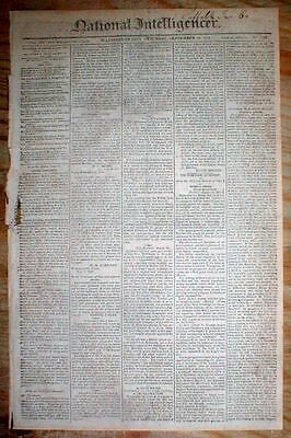WAR OF 1812 headline display newspaper FORT DETROIT SURRENDERS to BRITISH FORCES