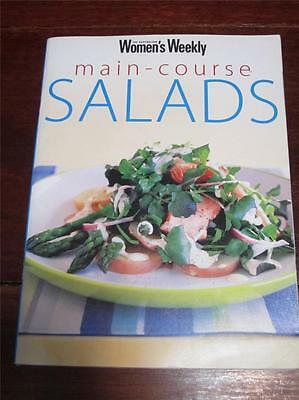 Womens' Weekly Cookbook Main Course Salads Chef Cooking Recipes  Fresh