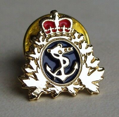 Canada - RCN, Royal Canadian Navy,  Naval Ops Gold Plated Lapel Pin