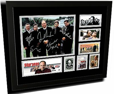 The Sopranos Cast Signed Limited Edition Framed Memorabilia