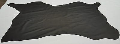 Leather Cow Hide Pure Black Av. 26 Sq. Ft. Upholstery Cowhides Automotive Ts-2B