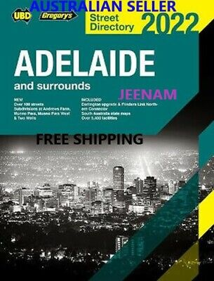 Adelaide Street Directory 2018 + FREE SHIPPING