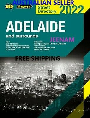 Adelaide Street Directory 2019 + FREE SHIPPING