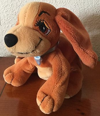 Disney Lady & The Tramp Small 6 Inch Lady Bean Bag Soft Toy
