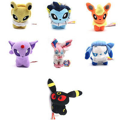 Pokemon Plush Toy Pikachu Eevee Umbreon Sylveon Dragonite Soft Stuffed Doll Gift