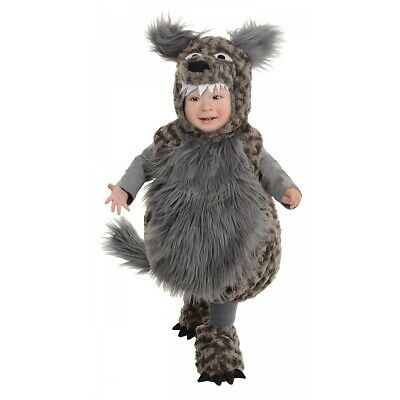 Toddler Big Bad Wolf Costume Kids Werewolf Halloween Fancy Dress
