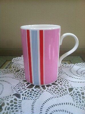 Vintage Cath Kidston China Queens Tea Cup Striped