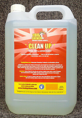 Deep Clean Leather Cleaner For Professional Valeters Car Wash 5 Litres