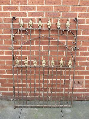 Lovely Antique Cast Iron Garden Gate