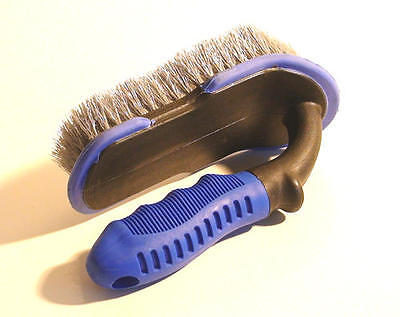 CARPET SCRUBBING BRUSH x 1 HEAVY DUTY VALETING BRUSH FOR CARPETS AND FABRIC