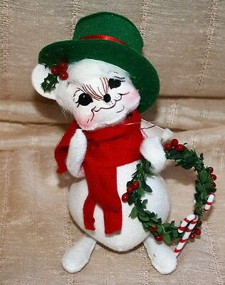 NOS 2005  ANNALEE Mobilitee Dolls Christmas Mouse