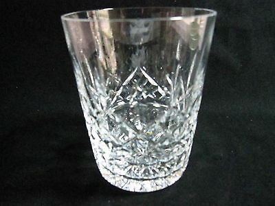 """Pair Waterford """"lismore"""" Double Old Fashioned, 4 3/8""""h, Price/pair, Xlnt Cond"""