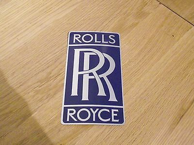 Vintage Rolls Royce Sticker