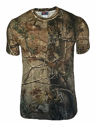 Realtree Ap Camo Hunting T-Shirt Medium