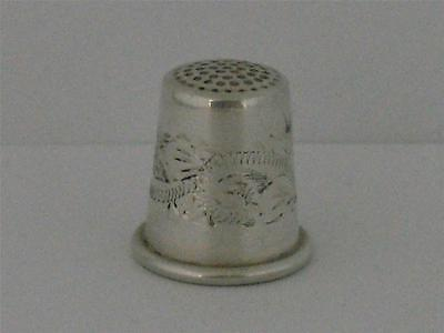 SOLID SILVER THIMBLE Birmingham 1996