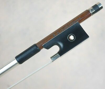 Sartory Model W.R.Schuster*** Master Level Silver IPE Concert Violin Bow 4/4 Top