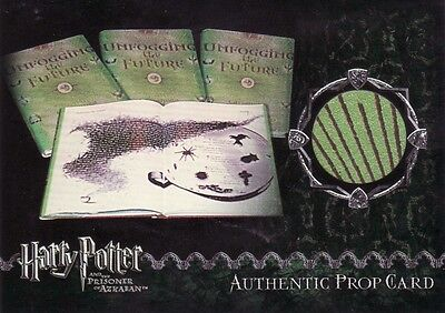 Harry Potter Prisoner of Azkaban Update Unfogging the Future Prop Card a