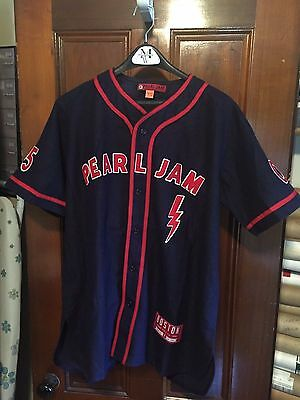 Pearl Jam Boston Baseball Jersey