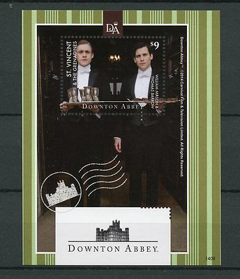 St Vincent & The Grenadines 2014 MNH Downton Abbey 1v S/S William Mason Stamps