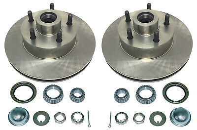 Pair Granada Racing Rotors for Pinto Spindle - 5x4-3/4 Bolt Pattern #CMS1714