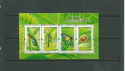 Hong Kong 2000 Insects MS, SGMS1027 mnh