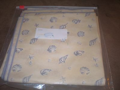 "Longaberger 36"" Fabric Square - Shoreline"