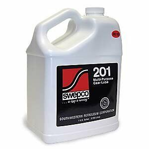 Swepco 201 Gear Oil 80w90 / ISO 150 1 Gallon