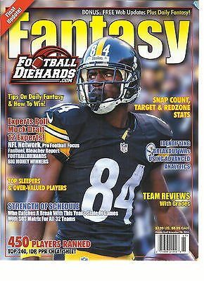 2016 FANTASY FOOTBALL DIEHARDS, 16th ANNIVERSARY ISSUE, 2016 (450 PLAYERS RANKED