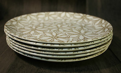 Retro Vintage Crown Lynn Clematis Patt no. 141 Dinner plates x 6 New Zealand