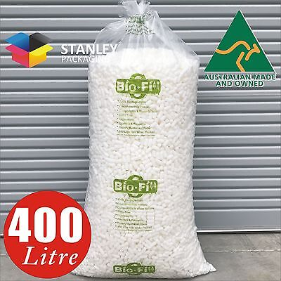 400 Litre Void Fill Foam Peanuts Packing Nuts BioFill  cushioning Loose