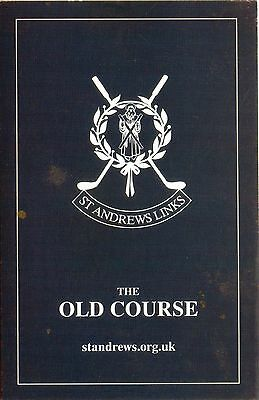 SCOTLAND GOLF St ANDREWS OLD COURSE SCORECARD 2005 Edition