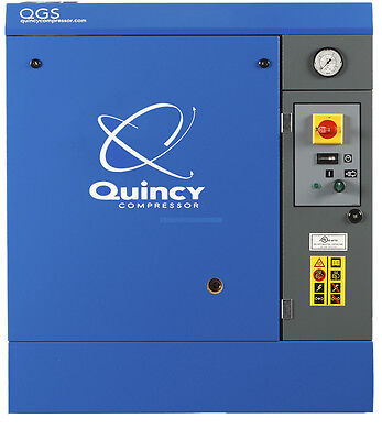 Quincy 5 HP Rotary Screw Air Compressor | QGS 5 HPB 208V