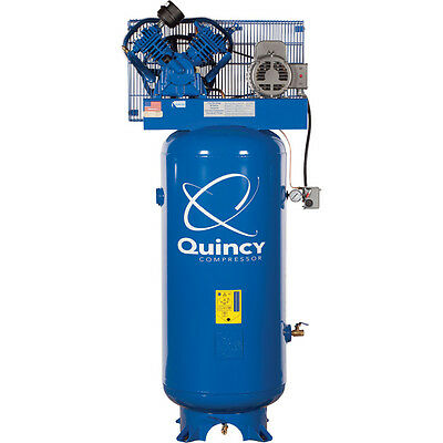 Quincy 5 HP Industrial Air Compressor | 60 Gallon | 1-Phase | QT 54
