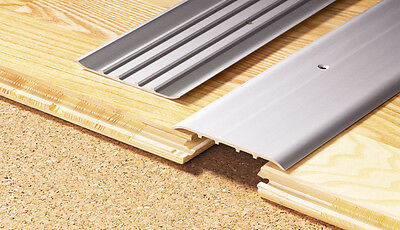 !! 80 mm WIDTH !! Aluminium Door Bars Threshold Strip Transition Trim Laminate
