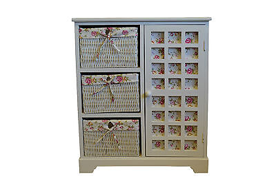 Girls Bedroom Furniture Princess Cabinet Wicker Draws White Draws Kids Room