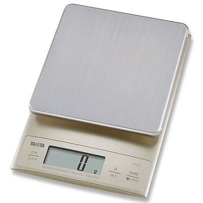 Tanita KD321SV Digital Kitchen Scale 3Kg - Silver