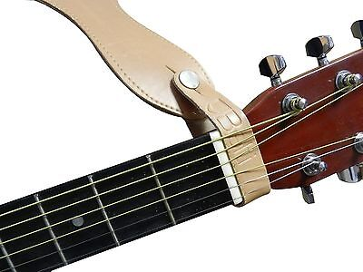 Genuine Leather Guitar Strap Hook Button for Acoustic/ Folk / Classic Colors